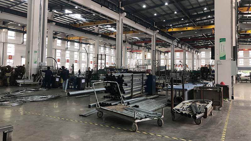 Kaiqi welding workshop