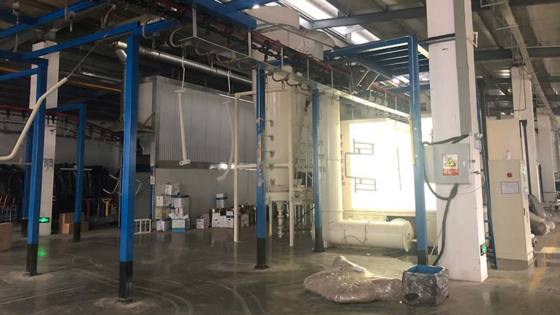 Kaiqi powder coating workshop