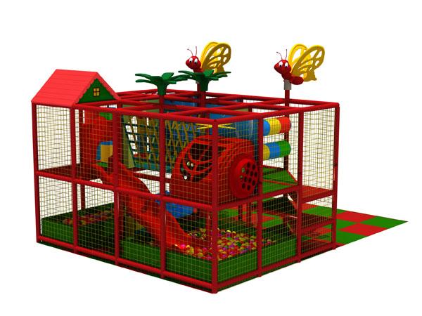 ملعب داخلي للأطفال مصنوع من مادة ناعمة مع ألعاب المتاهة