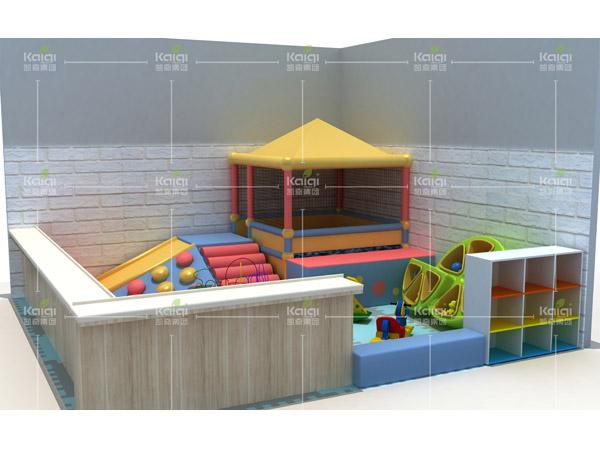 Soft play center for toddler kids