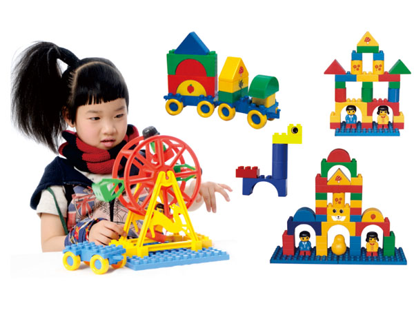 Building blocks building toys for toddlers special shapes for preschool family use