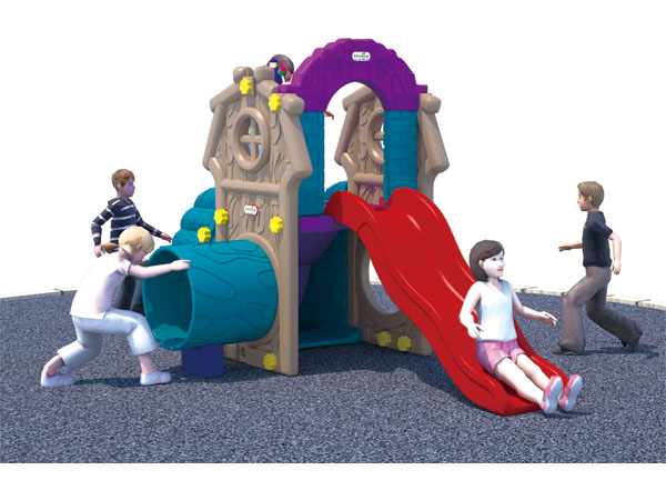 Preschool suitable little swing and slide set for younger kids