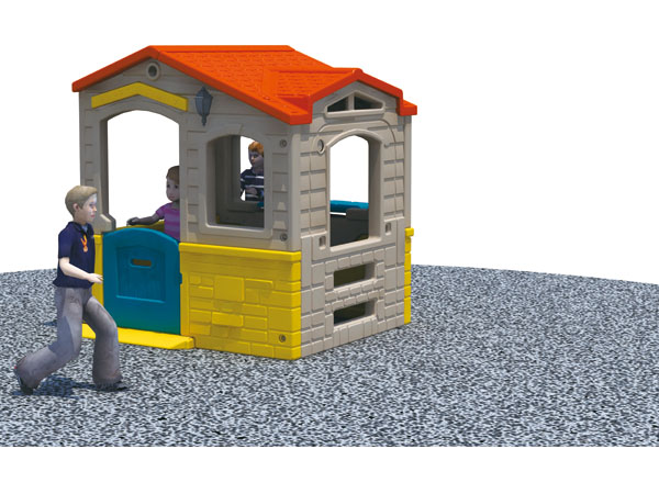 Children Plastic game house kids' ideal happy playhouse