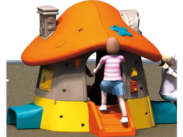 Doll house toddler' happy mushroom playhouse best choice for family yard garden and preschool good for little kids