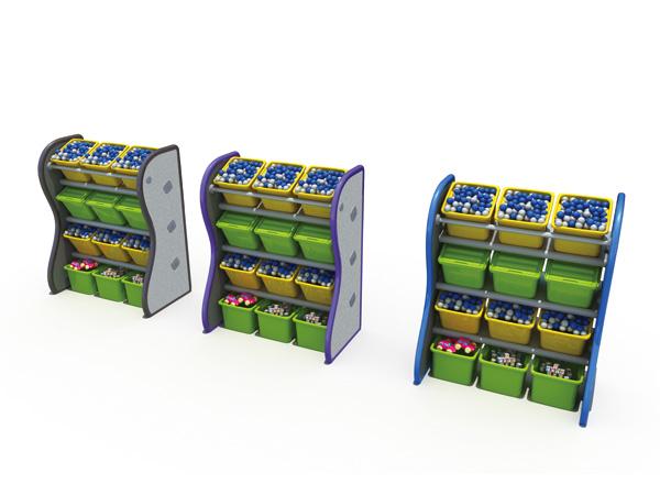 رف تخزين خزانة الألعاب ، ناعم ومقاوم للأوساخ ، سهل التنظيف للاستخدام في مرحلة ما قبل المدرسة
