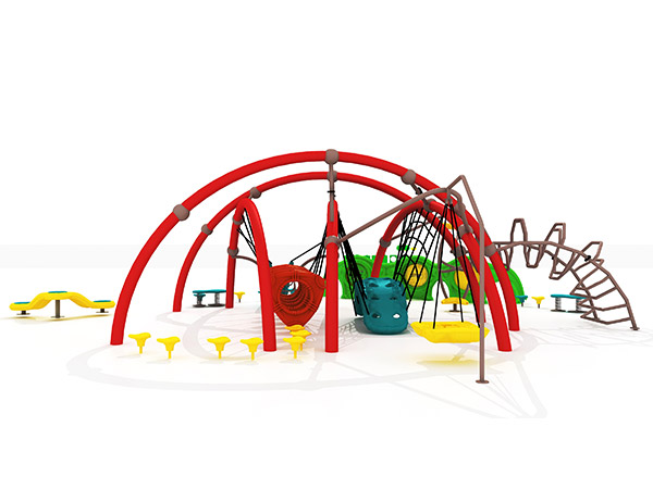Children's durable combined outdoor climbing system outdoor playground equipment KQ31002A