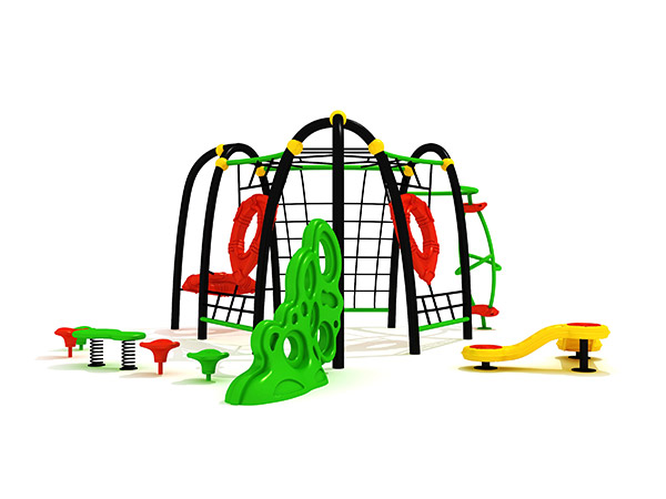 Children's durable combined commercial climbing outdoor Physical Training playground equipment