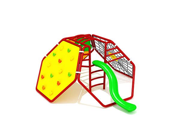 Kinders se gewilde kommersiële buiteklimspeel -speelterrein buite speelstelsel KQ31061B