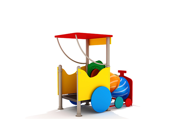 Children's small size popular commercial outdoor playground structure outdoor play system KQ31081D