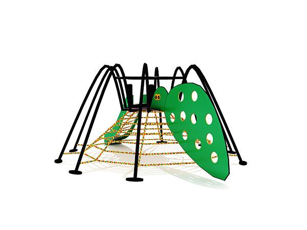 Kinders se gewilde kommersiële buitenshuise speelgrondstruktuur buitenshuise speelstelsel KQ31086C