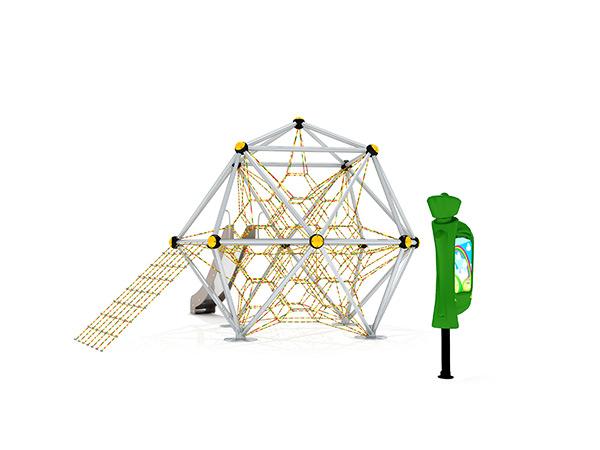 Kinders se gewilde kommersiële buitelug -speelterrein buite -klimstelsel KQ31087B