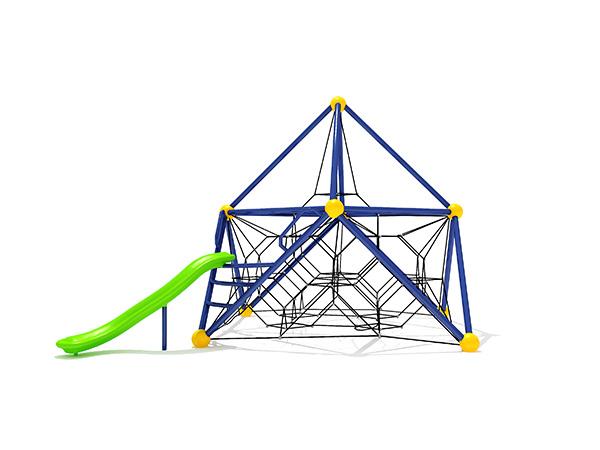 معدات ملعب الأطفال في الهواء الطلق التجارية الشهيرة نظام التسلق الخارجي KQ31092A