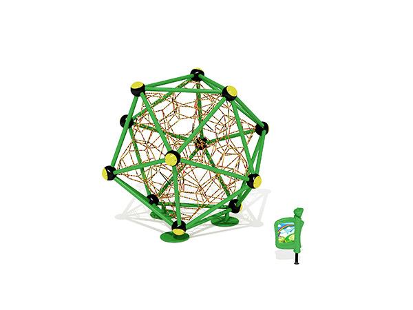 Gewilde kinders se kommersiële buitenshuise speelterrein -touklimstelsel KQ31093A