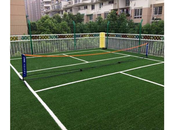 Artificial grass for sports court