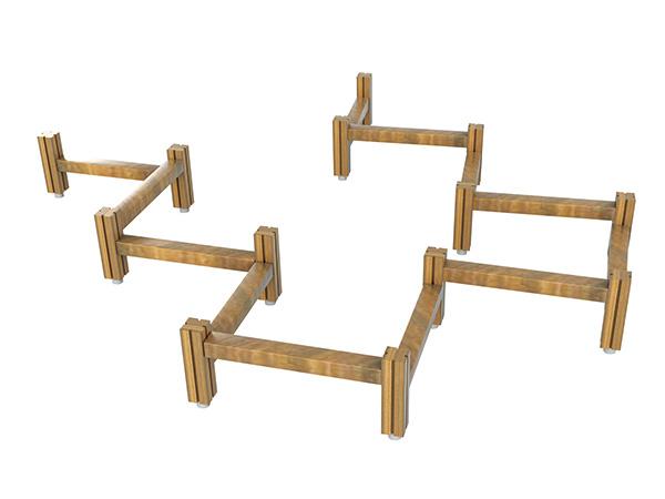 Balance beams for kids to train balance ability