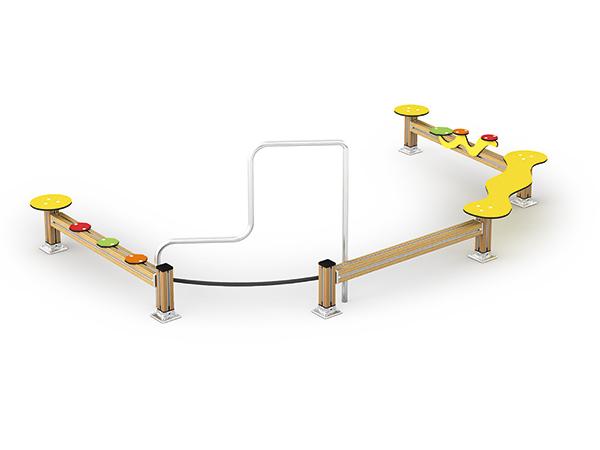 Balance beam sets for kids to train balance ability