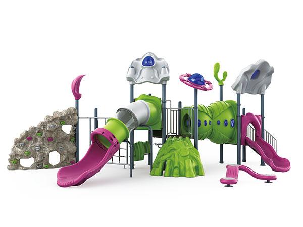 Speelplek vir kinders om in die restaurant te speel as hulle op hul ouers wag
