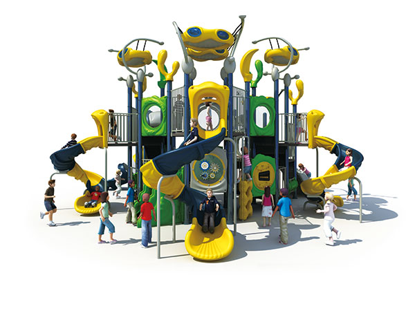 Play equipment made in China for kids to play in park or resort playground