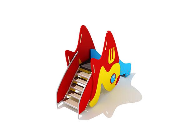 Kinders se gewilde klein buitenshuise speelterrein vir buitenshuise speelplek KQ31077C
