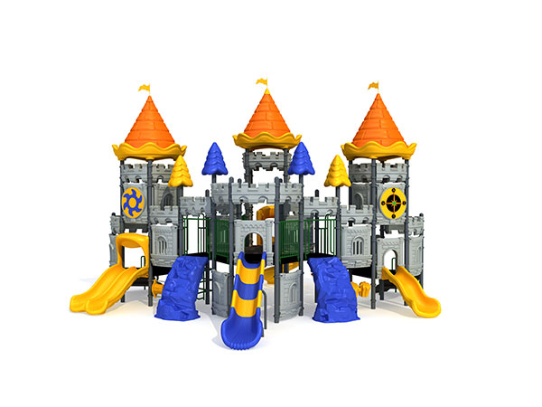 Castle theme playground for landscape play area suitable for children play and learn