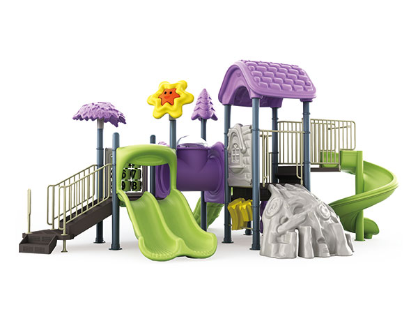 Outdoor games for children with vivid colors for schools and hotels