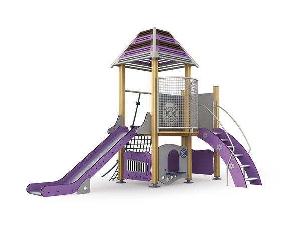معدات اللعب في الهواء الطلق مصنوعة من مواد بيئية جيدة لملعب المدرسة والتخييم
