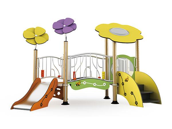 Speel toerusting vir oorde en hotelle, kampeer om toeriste met kinders te lok