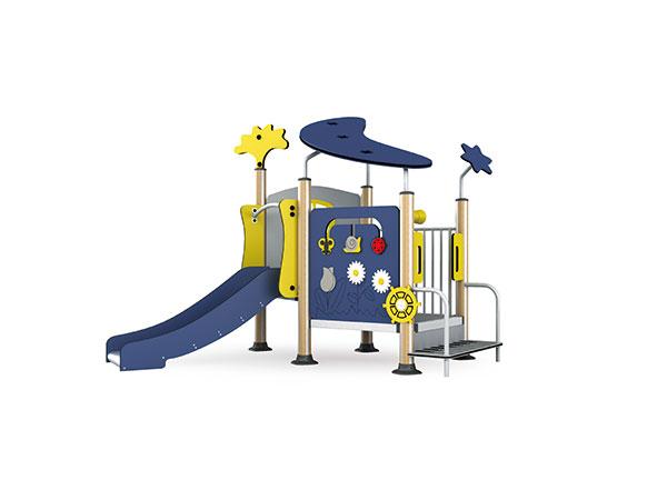 معدات ملعب للأطفال الصغار للعب في الفناء الخلفي أو الحضانة