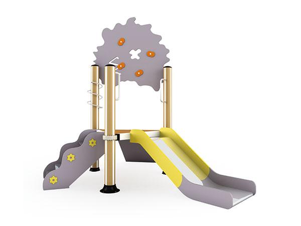 يساعد الملعب الأطفال الصغار على النمو بسعادة وذكاء وقوة