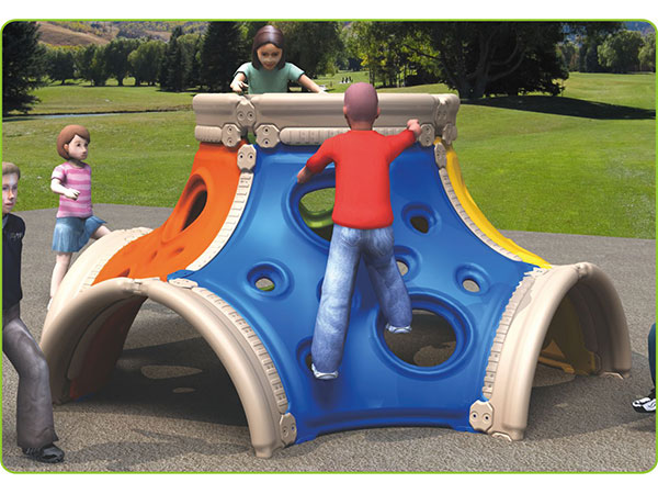 Food-grade LLDPE plastic kids toy children's outdoor playground equipment outdoor climbing system to play and climb
