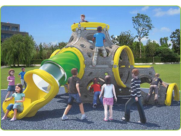 Voedselkwaliteit LLDPE plastiek kinderspeelgoed vir kinders se speelterrein vir kinders, binnenshuise speelplek vir speel en klim