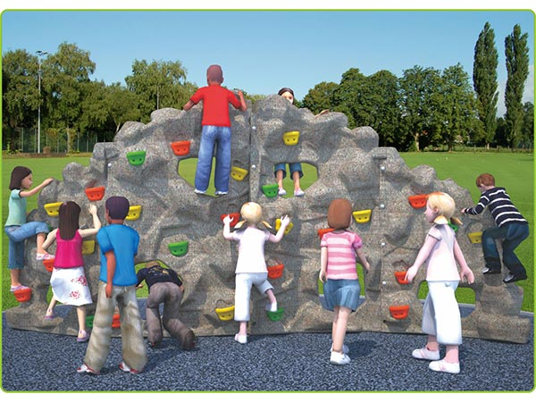 Food-grade LLDPE plastic mountain climber kids toy children's outdoor playground equipment indoor playground system to play and climb
