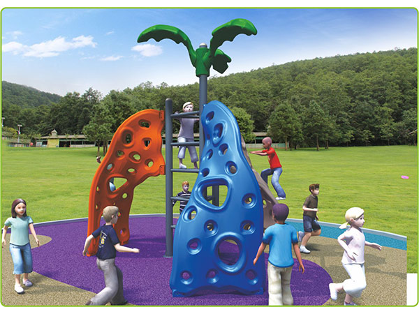 Food-grade LLDPE plastic leaf climber children's outdoor playground equipment indoor playground system to play and climb