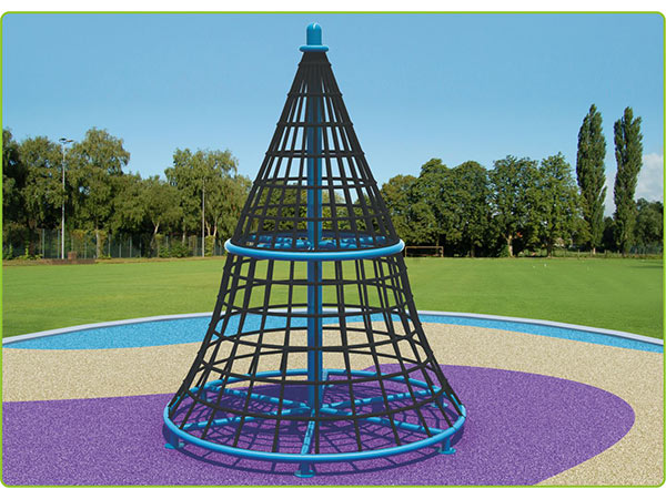 Rope climber children's outdoor playground equipment outdoor climbing system to play and climb