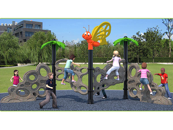 Food-grade LLDPE plastic forest climber children's outdoor playground equipment indoor playground system to play and climb