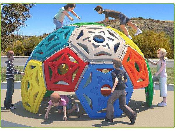 Plastic dome climber kids toy children's outdoor playground equipment indoor playground system to play and climb KQ60192A