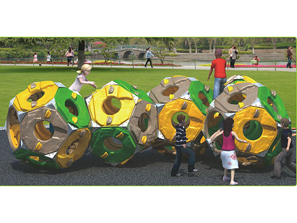 Colorful LLDPE plastic climber kids toy children's outdoor playground equipment indoor playground system to play and climb and crawl