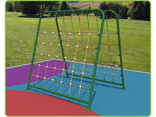 Rope climber children's outdoor playground equipment outdoor rope climbing system to play and climb KQ60195D