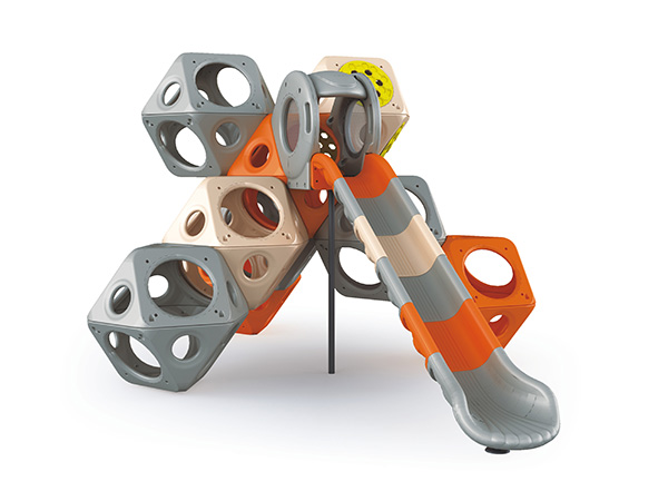 Cube climbing equipment outdoor climbing system to play and climb