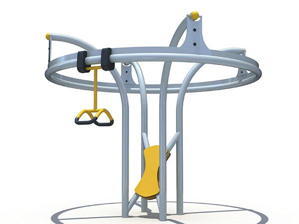 Roesvrye staal speelgoed vir kinders buite speelterrein vir kinders se vermaaklikheidsspel