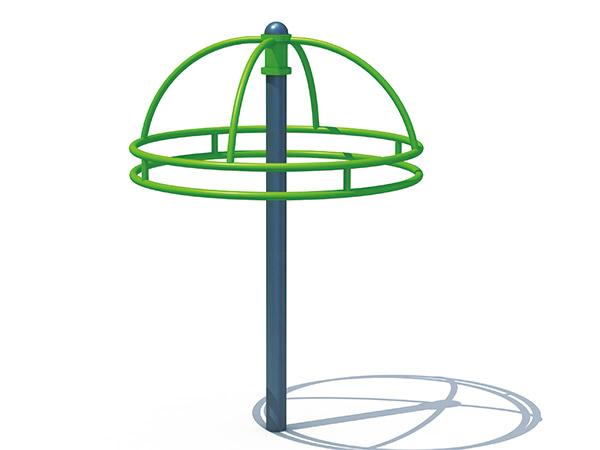 Hot-galvanized steel Merry go round for children kids outdoor playground equipment children's amusement play