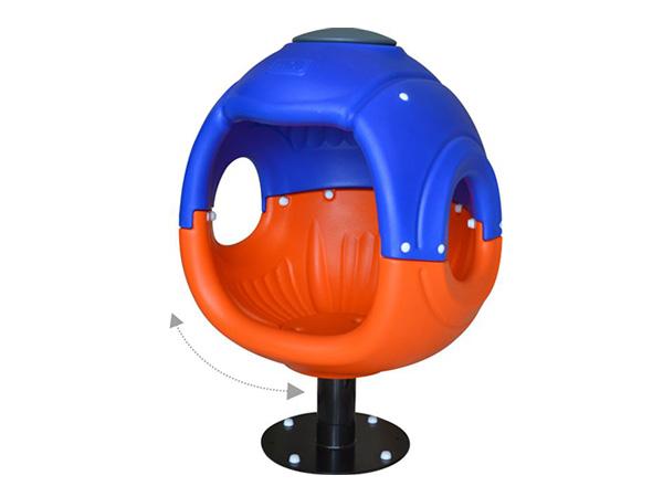 Colorful LLDPE Plastic kids Merry go round kids outdoor playground equipment children's amusement playground