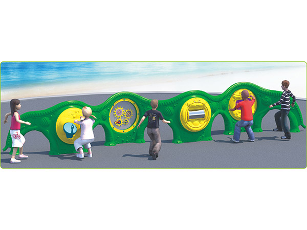 Activity play panels for kids to play in outdoor playground from Chinese factory