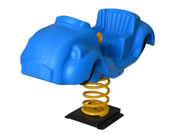 Plastic Spring rider in car shape factory price