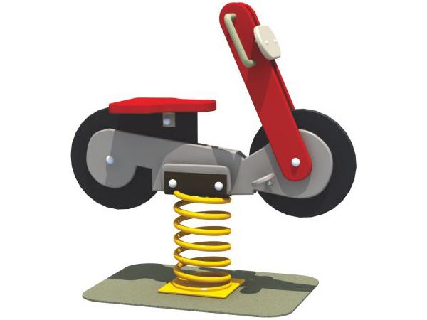 Kid's  Spring rider for park playground