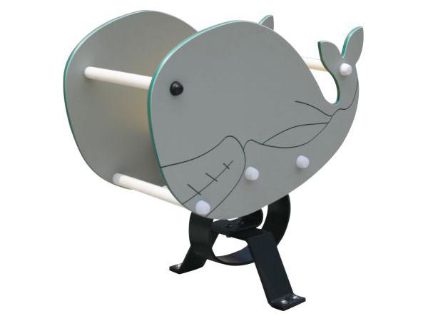 Buite speelgrond springruiterwalvis